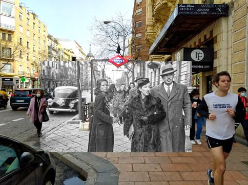 Calle Goya. 1943.