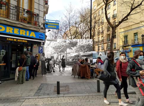 Calle Argumosa.1940.