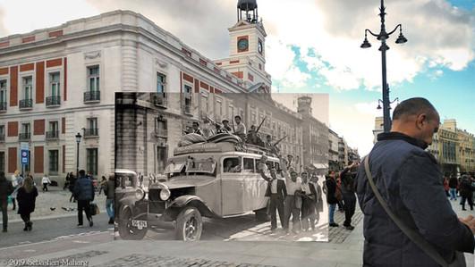Puerta del Sol. 1936.