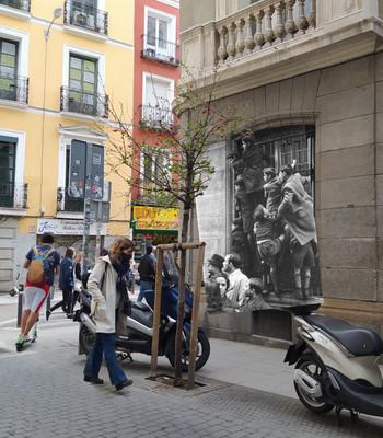 Calle de la Farmacia. 1944.