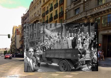 Calle Alcalá.
