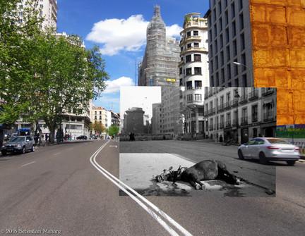 Caballo Muerto. Plaza de España.