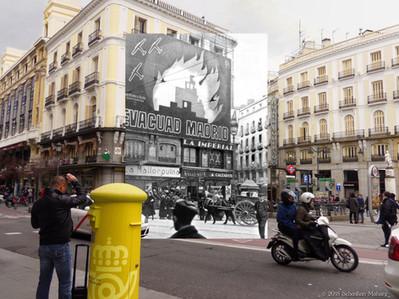 ¡Evacuad Madrid! - Puerta del Sol