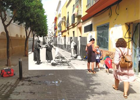 Matanza y mascarillas. Triana 1936.