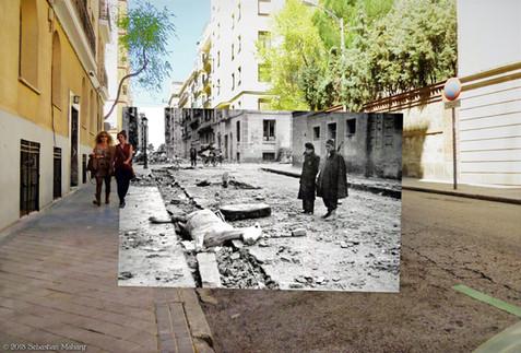 Caballo muerto - Calle Martín de los Heros