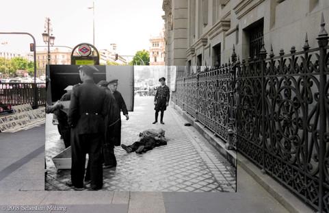Cadáver. Banco de España.