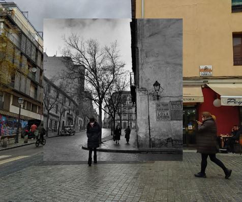Calle Embajadores - 1950