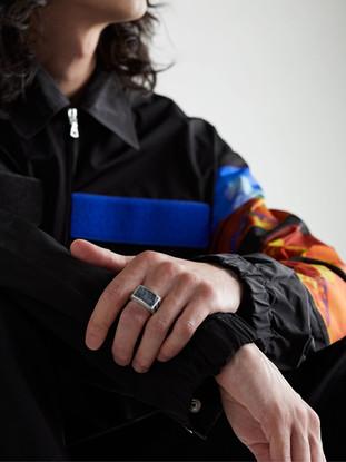 Men's Ring on Model