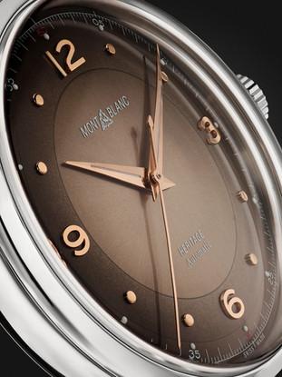 Montblanc Timepiece Close up