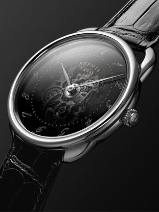 Hermes Timepiece Face