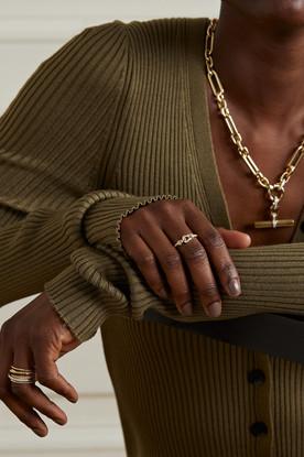 Women's Ring on Model