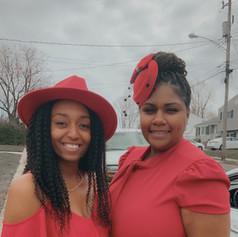Sikaya Alston and Alycia Johnson