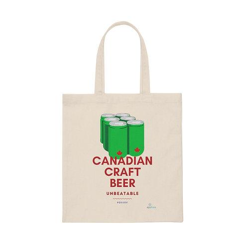 Canadian Craft Beer - Tote Bag