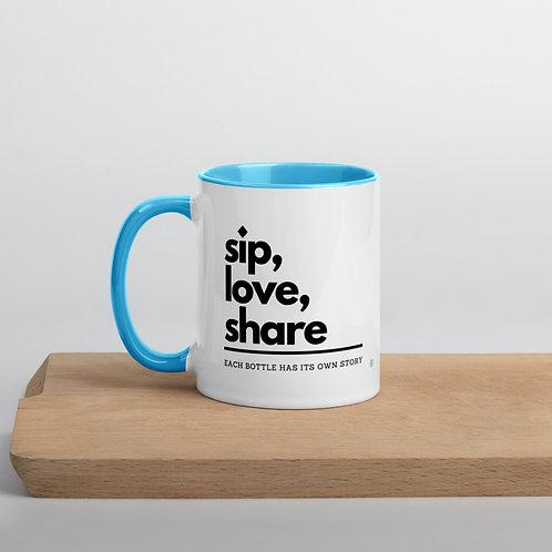 Sip, Love, Share - Mug