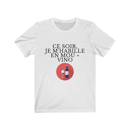 Ce Soir Mou & Vino - T-shirt
