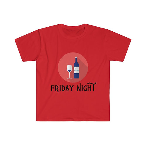 Friday Night Wine - T-shirt