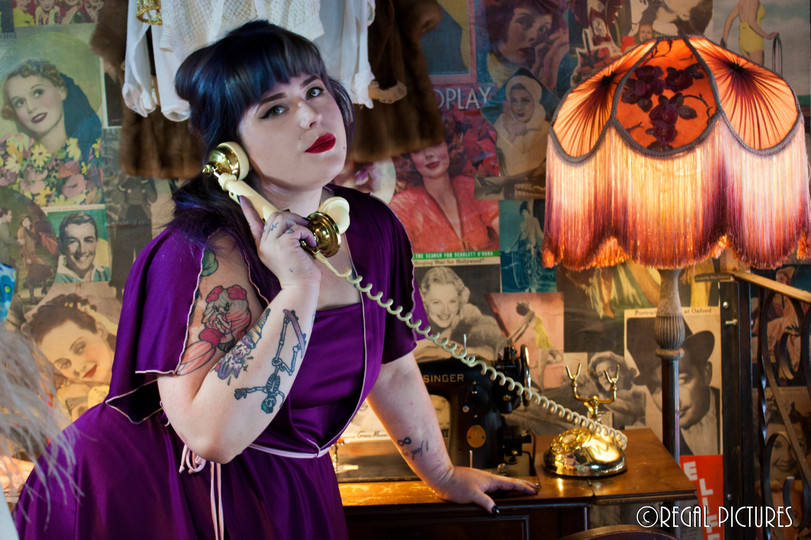 Babe Coven Co-founder Corinne Dodenhoff Another Man's Treasure Vintage, Jersey City, NJ