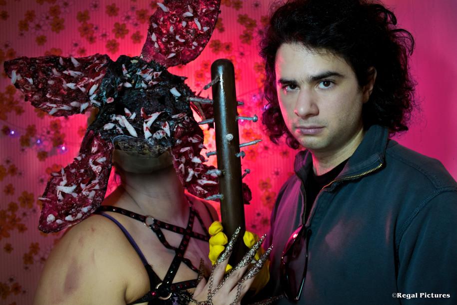 Burlesque Performer, Regal Mortis/Stranger Things Demogorgon FX by Regal Mortis