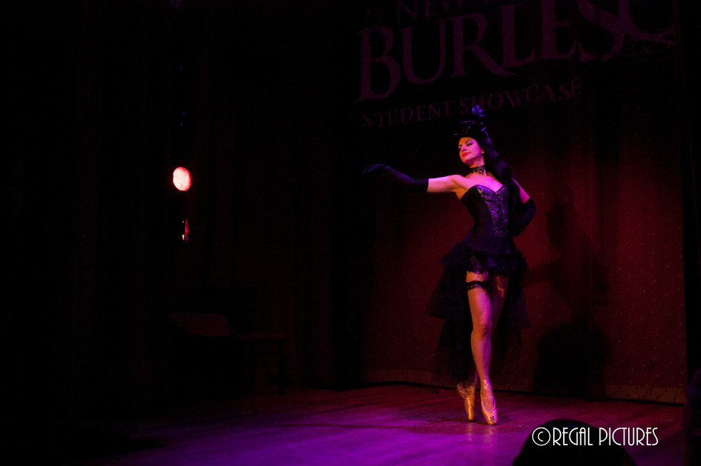 Burlesque Performer Lita Lamarr, The Slipper Room NYC
