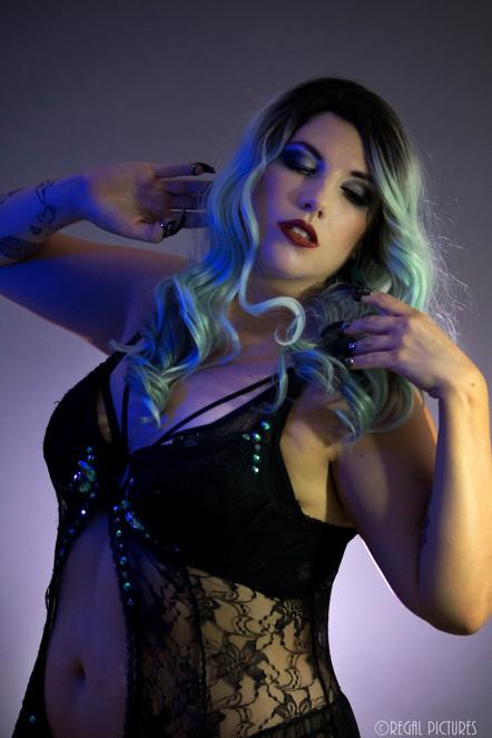 Burlesque Performer, Anja Keister