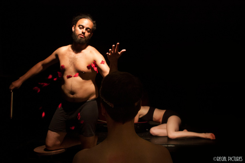 Sans, Seattle, WA. A Danse Theatre Surreality Prodction. Directed by Lauren Hlubny