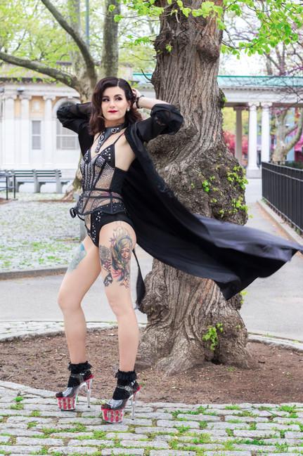 Burlesque Performer, Trixie Delight