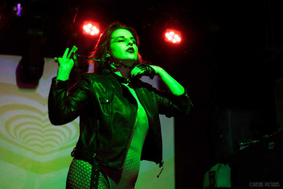 Burlesque Performer, Venatrix, Lucky 13 Saloon, Brooklyn, NY
