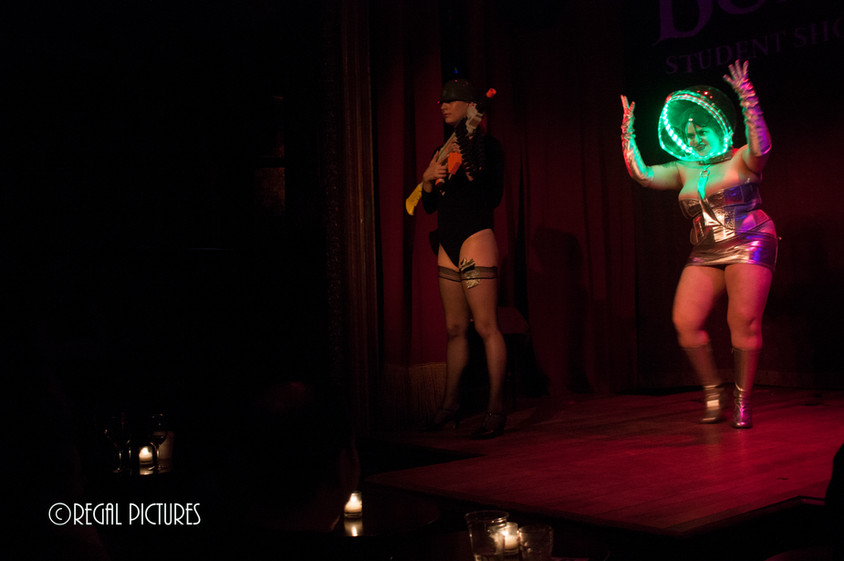 Burlesque Performer Sarah Tonin, The Slipper Room, NYC