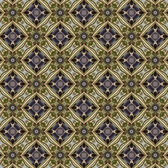 Green & Purple Diamond Pattern