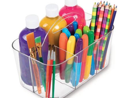 mDesign Plastic Caddy Organizer