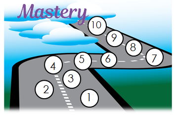 The Road to Mastery:  The Rule of 10