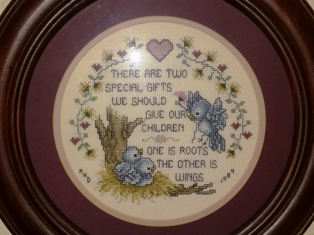 Roots & Wings Legacy Cross Stitch
