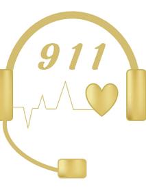 911 Dispatcher Headset with Heartbeat EKG