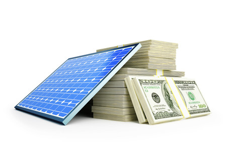 How does the NJ TREC solar incentive structure provide a guaranteed 15-year financial return?
