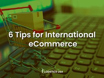6 Tips for International eCommerce