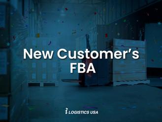 New Customer's FBA