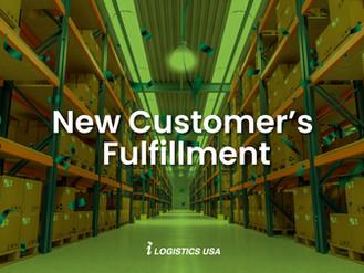 New Customer's Fulfillment