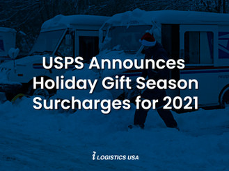 USPS Announces Holiday Gift Season Surcharges for 2021