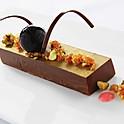 Chocolate Pistachio Truffle Cake