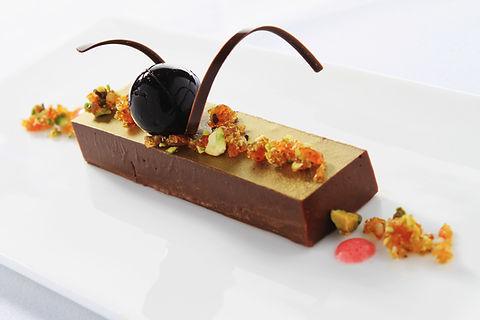 Dessert au chocolat Gourmet