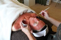 rødmaske ansigtsbehandling