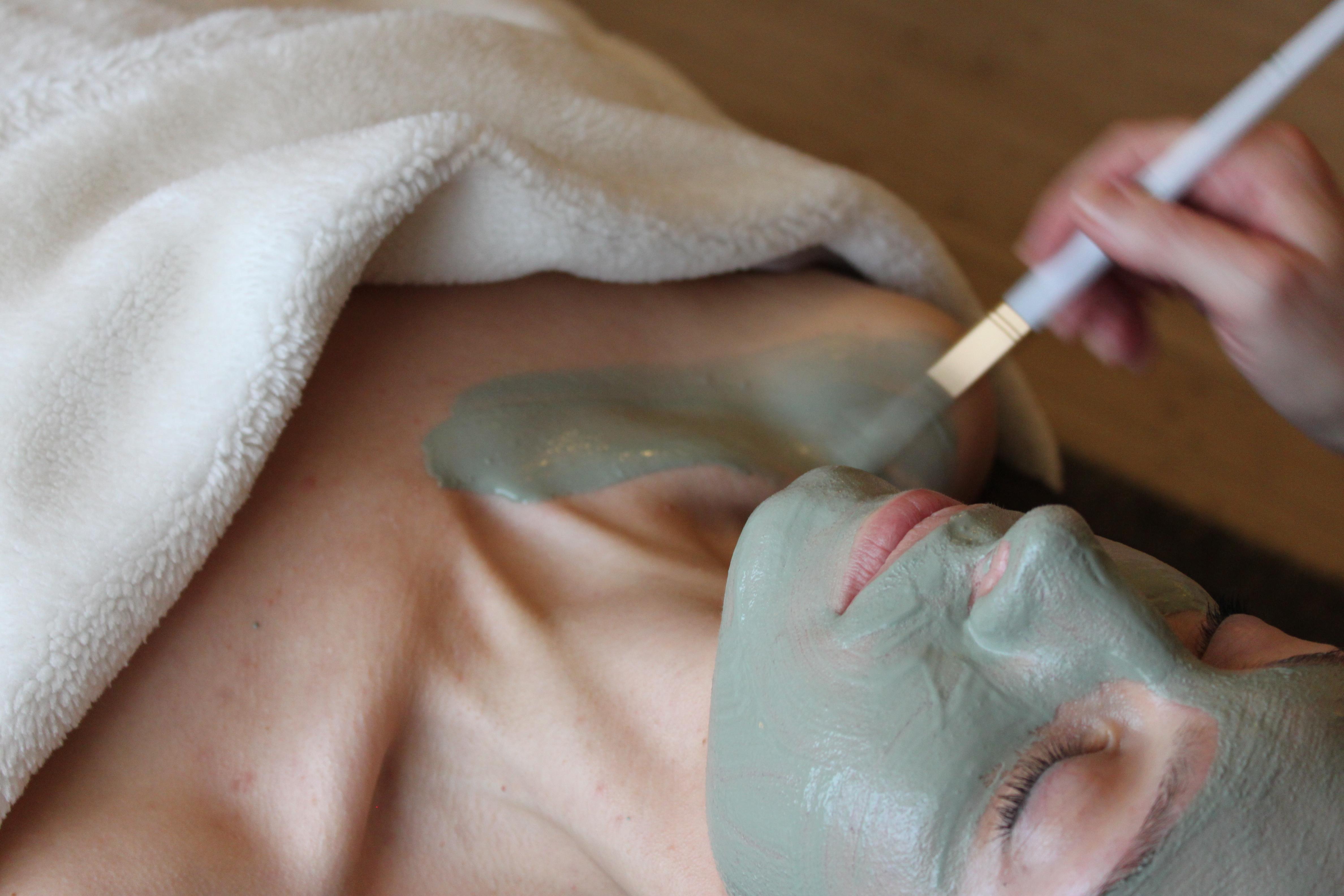 grønmaske ansigtsbehandling