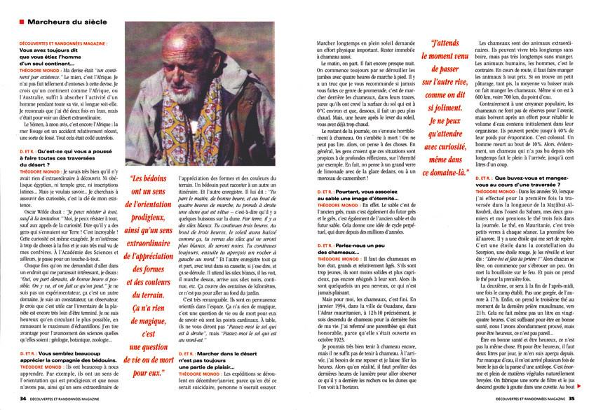 BAYARD PRESSE Découvertes & Randonnées magazine