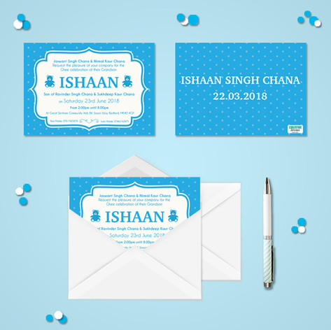 Personalised Invitation Design