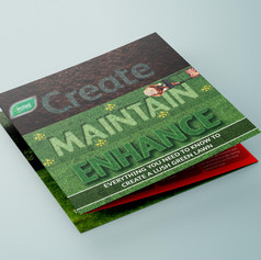 Lawncare Educational Leaflet Design