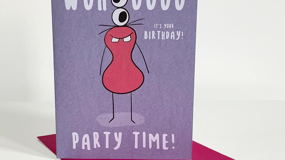 WOHOOOO it's your Birthday | Party Time!