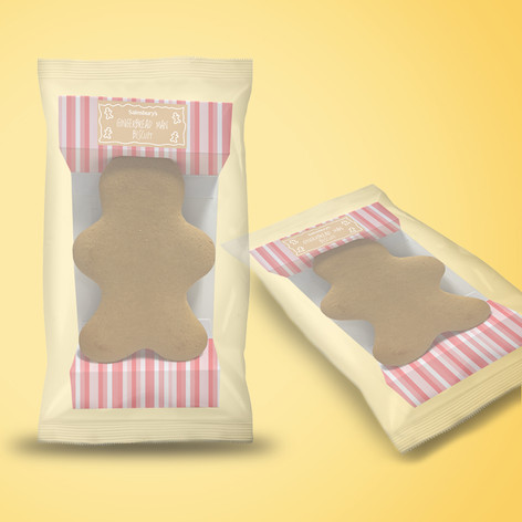 Sainsbury's Ginger Bread Packaging Innovation