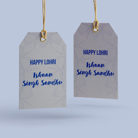 Lohri Gift Tags