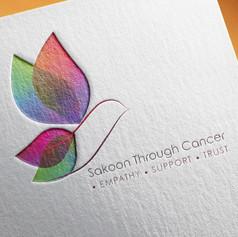 Sakoon Through Cancer Charity Logo