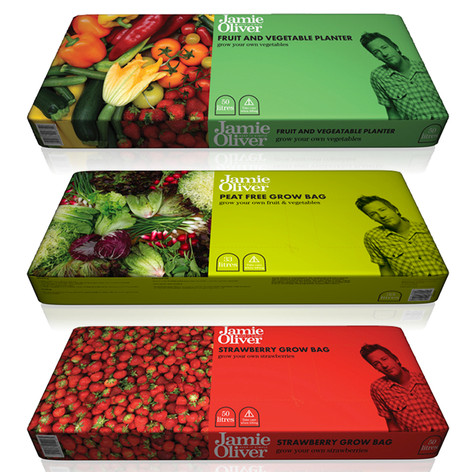 Jamie Oliver Packaging Artwork Range